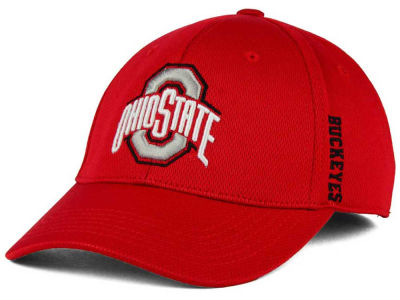 Ohio State Buckeyes J America NCAA Pique Ultra Core Flex Hat