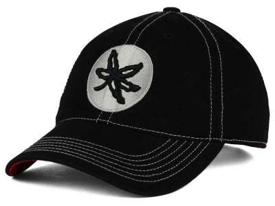 Ohio State Buckeyes J America NCAA Tonal Leaf Relaxed Adjustable Cap
