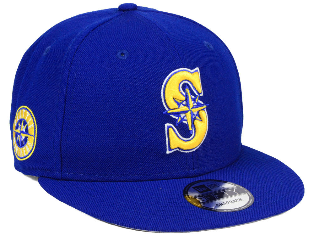 premium selection d5bf7 0afe4 Seattle Mariners New Era MLB 2 Tone Link 9FIFTY Snapback Cap   lids.com