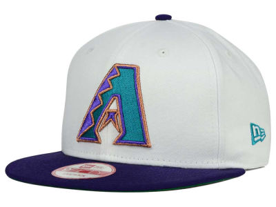 Arizona Diamondbacks New Era MLB 2 Tone Link Cooperstown 9FIFTY Snapback Cap
