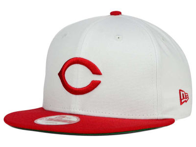 Cincinnati Reds New Era MLB 2 Tone Link Cooperstown 9FIFTY Snapback Cap