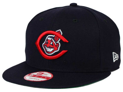 Cleveland Indians New Era MLB 2 Tone Link Cooperstown 9FIFTY Snapback Cap