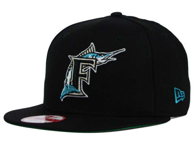 Florida Marlins New Era MLB 2 Tone Link Cooperstown 9FIFTY Snapback Cap