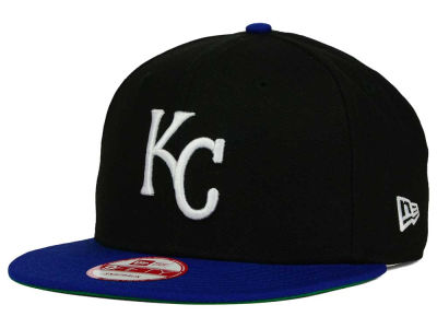 Kansas City Royals New Era MLB 2 Tone Link Cooperstown 9FIFTY Snapback Cap