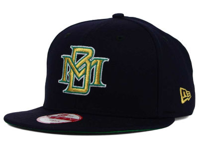 Milwaukee Brewers New Era MLB 2 Tone Link Cooperstown 9FIFTY Snapback Cap