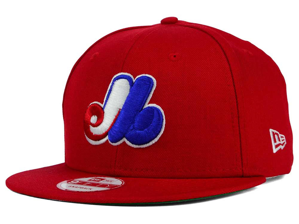 Montreal Expos New Era MLB 2 Tone Link Cooperstown 9FIFTY Snapback Cap  49f2b1e3133