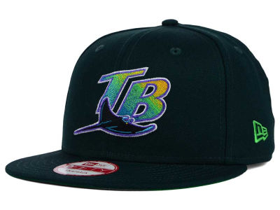 Tampa Bay Rays New Era MLB 2 Tone Link Cooperstown 9FIFTY Snapback Cap