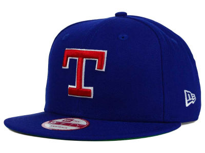 Texas Rangers New Era MLB 2 Tone Link Cooperstown 9FIFTY Snapback Cap