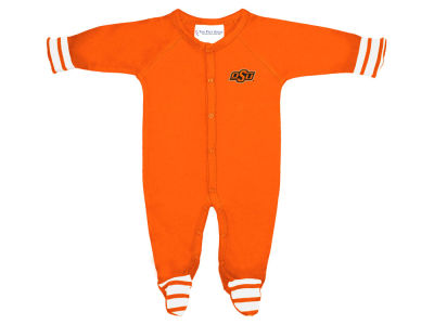 Oklahoma State Cowboys NCAA Newborn Footed Stripe Creeper