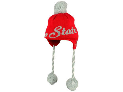 Ohio State Buckeyes J America NCAA Youth Fun Tassle Knit