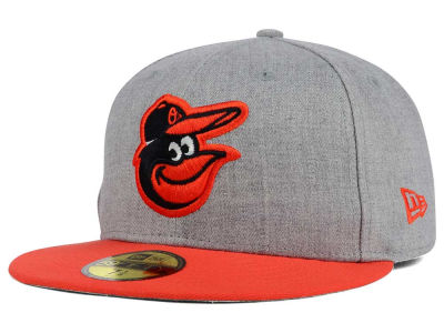 Baltimore Orioles New Era MLB Heather Team Color 59FIFTY Cap