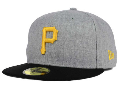 Pittsburgh Pirates New Era MLB Heather Team Color 59FIFTY Cap