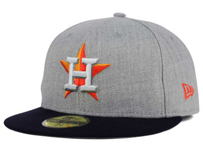 Houston Astros New Era MLB Heather Team Color 59FIFTY Cap