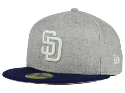 San Diego Padres New Era MLB Heather Team Color 59FIFTY Cap