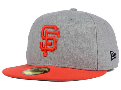 San Francisco Giants New Era MLB Heather Team Color 59FIFTY Cap