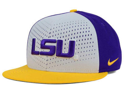 LSU Tigers Nike NCAA True Seasonal Snapback Cap