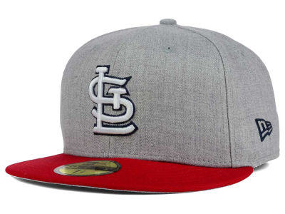 St. Louis Cardinals New Era MLB Heather Team Color 59FIFTY Cap