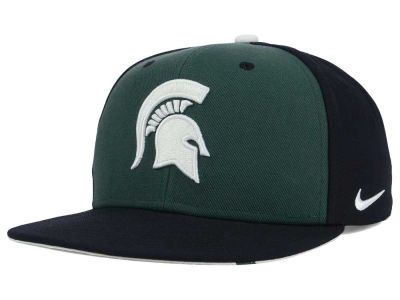 Michigan State Spartans Nike NCAA Pro Verbiage Snapback Cap