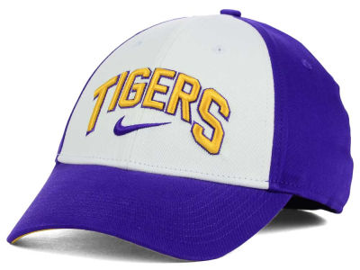 LSU Tigers Nike NCAA L91 Verbiage Swoosh Hat