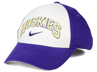 Washington Huskies Nike NCAA L91 Verbiage Swoosh Hat
