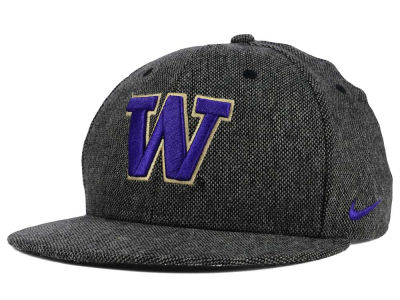 Washington Huskies Nike NCAA True Tweed Snapback Cap