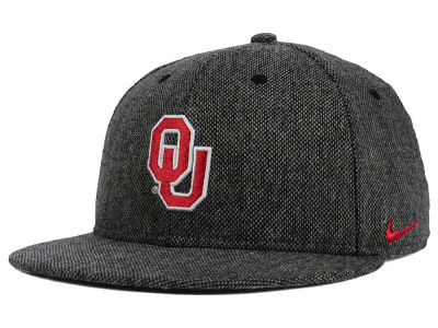 Oklahoma Sooners Nike NCAA True Tweed Snapback Cap