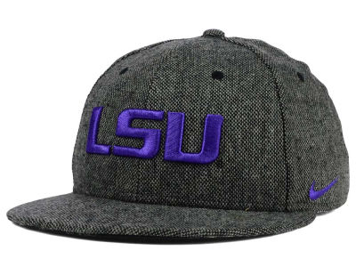 LSU Tigers Nike NCAA True Tweed Snapback Cap