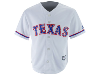 Texas Rangers MLB Kids Blank Replica Cool Base Jersey