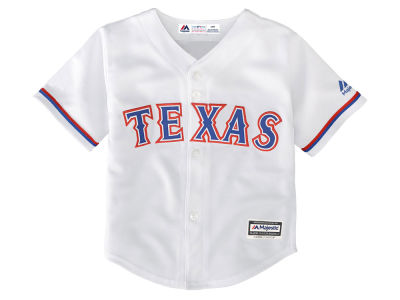 Texas Rangers MLB Toddler Blank Replica Cool Base Jersey