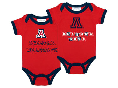 Arizona Wildcats NCAA Newborn 2 Pack Contrast Creeper