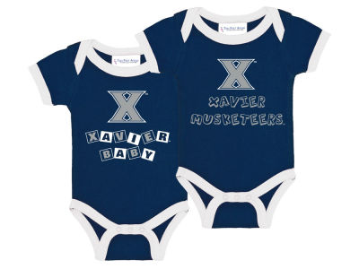 Xavier Musketeers NCAA Newborn 2 Pack Contrast Creeper