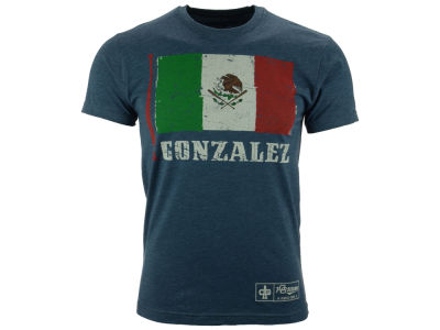Los Angeles Dodgers Adrian Gonzalez MLB Men's Country Flag Player Issue T-Shirt