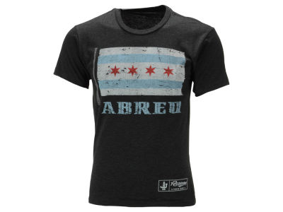 Chicago White Sox José Abreu MLB Men's State Flag Player Issue T-Shirt