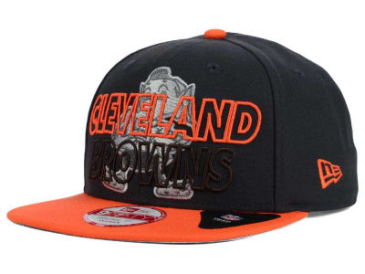 Cleveland Browns New Era NFL Graph Outline 9FIFTY Snapback Cap