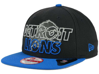 Detroit Lions New Era NFL Graph Outline 9FIFTY Snapback Cap