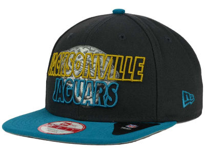 Jacksonville Jaguars New Era NFL Graph Outline 9FIFTY Snapback Cap