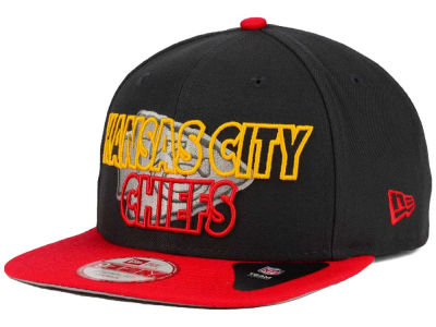 Kansas City Chiefs New Era NFL Graph Outline 9FIFTY Snapback Cap