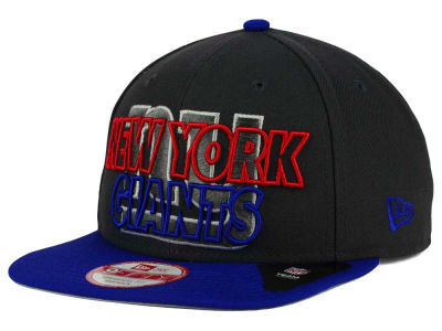 New York Giants New Era NFL Graph Outline 9FIFTY Snapback Cap