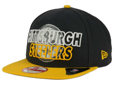 Pittsburgh Steelers New Era NFL Graph Outline 9FIFTY Snapback Cap