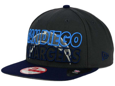San Diego Chargers New Era NFL Graph Outline 9FIFTY Snapback Cap
