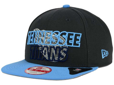 Tennessee Titans New Era NFL Graph Outline 9FIFTY Snapback Cap