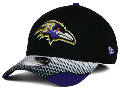 Baltimore Ravens New Era NFL Screen Vize 39THIRTY Cap