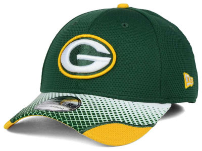Green Bay Packers New Era NFL Screen Vize 39THIRTY Cap