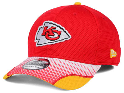 Kansas City Chiefs New Era NFL Screen Vize 39THIRTY Cap