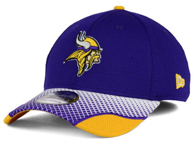 Minnesota Vikings New Era NFL Screen Vize 39THIRTY Cap