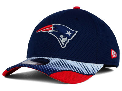 New England Patriots New Era NFL Screen Vize 39THIRTY Cap
