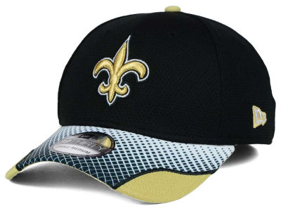 New Orleans Saints New Era NFL Screen Vize 39THIRTY Cap