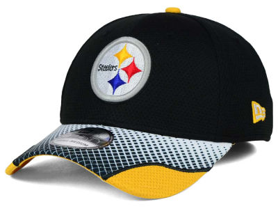 Pittsburgh Steelers New Era NFL Screen Vize 39THIRTY Cap