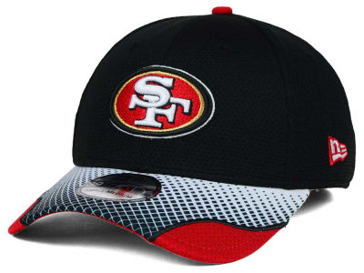 San Francisco 49ers New Era NFL Screen Vize 39THIRTY Cap