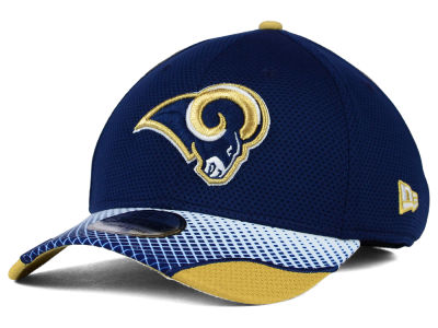 St. Louis Rams New Era NFL Screen Vize 39THIRTY Cap